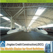 Heavy Steel Structure with High Quality for Train Station Building
