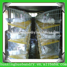 Practical poultry layer cages with feeding system for rabbit