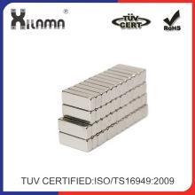 Geringen Größe starke Neodym NdFeB Block Magnete N50 N52