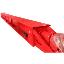 Shaftless screw conveyor for building materials