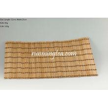 Tapete de bambu cru para a tabela do chá, 32 * 25cm