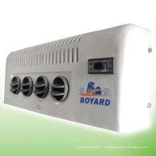 HVAC dc 12/12v R134a cabine de grue de camion minier machine grab pièces de système de climatisation pelle camping voiture