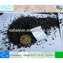 Filtro de carvão ativado em coco para refinação de ouro