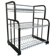 Rack en métal multiple, étagère de plaque de cuisine, rack de rangement