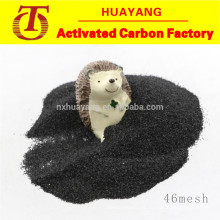 High toughness black corundum/fused alumina for stainless steel