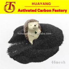 Résistance élevée corindon noir / alumine fondue pour l'acier inoxydable