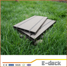 Panel de pared compuesto de plástico de madera wpc cladding / wood composite