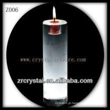 Suporte de vela de cristal popular Z006