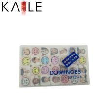 Mesas Domino mit beliebten Muster Kunststoffgehäuse