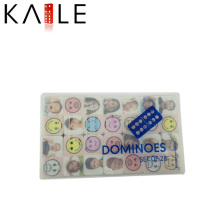 Mesas Domino with Popular Pattern Plastic Case