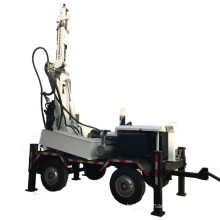 High Efficiency Trailer Water Borehole Drilling Rig