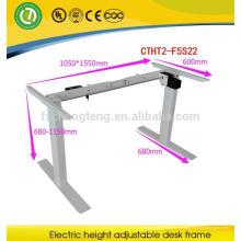 2016 две ноги одного двигателя электрический подъем шагом, сидеть стоять стол с регулируемой высотой