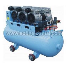 Óleo Compressor de ar odontológico gratuito com CE