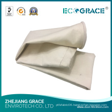 130*6000mm PE Filter Bag / Dust Filter Cement Plant Filter Material