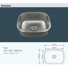 Lavabo portátil al por mayor del lavado a mano de la cocina del acero inoxidable del cuarto de baño del camping