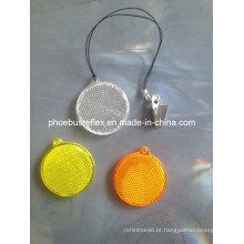 Refletor redondo PMMA cabide de refletivos