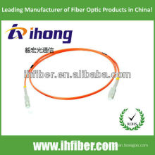 SC multimodo simplex fabricante de cabo de fibra óptica patch com alta qualidade