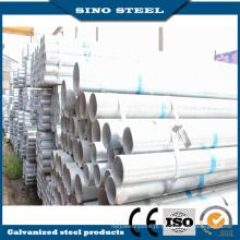 Tubulação de aço galvanizada de espessura de 1,25 mm de série 300