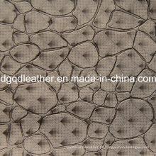 Moda pedra padrão de couro móveis de decoração (qdl-51383)