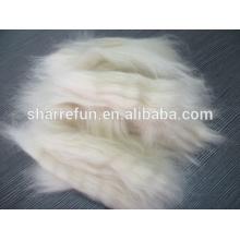 Feine chinesische Schaf-Wolle-geöffnete Oberseiten natürliches weißes 19.5mic / 44-45mm für Verkauf