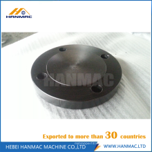 Pipe fitting black flange blind flange