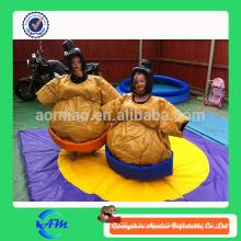 Ternos de Sumo adulto inflável, pano inflável barato do ar