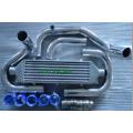 Black Auto Intercooler Tube Cooler for Honda B-Series (B16 B18 B20)