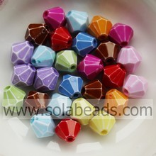 Online Wholesale 8MM Colors Bi-Cone Shamballa Beads