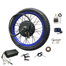 17inch-21inch Motorcycle wheel rims 72V 5000W Powerful Motor Electric Bike Bicycle Conversion Kit 110km/h