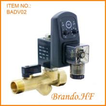 Воздушный компрессор автоматический воды сливной клапан с таймером