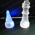 Knipperend schaakspel, LED Glow Chess Set, schaakspel, LED Chess