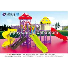 JS07502 Hotsale Kids Outdoor Plastic Playground Equipamiento