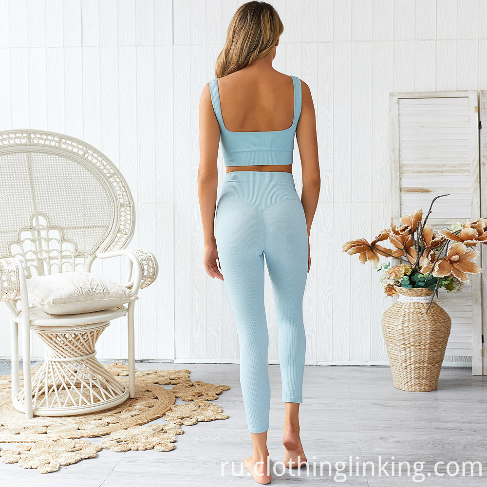 women's ribbed yoga outfits (1)