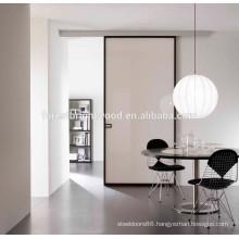 Contemporary White Wooden Sliding Door for Master Bedroom