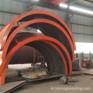 Afvalband Rubber Recycling Pyrolyse Machine