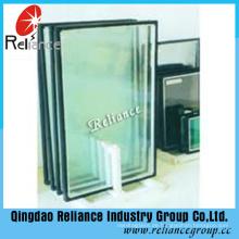 Abgedichtetes Glas / Hohlglas / Isolierglas / 5mm Grau + 6A / 9A / 12A + 5mm Klar Low- E /