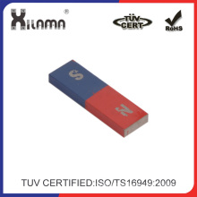 Red and Blue Bar AlNiCo Magnet