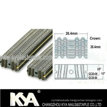 Gc20 Series Corrugated Staples for Furnituring