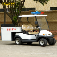 Environmental 2 Seats electric Garbage Truck Electric Utility Cart With cargo