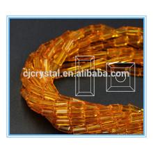 Cuentas rectangulares de vidrio en cuentas de vidrio a granel china