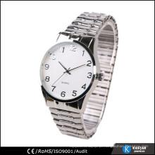 Relógios de pulso de quartzo de Japão, relógio de pulseira elástica