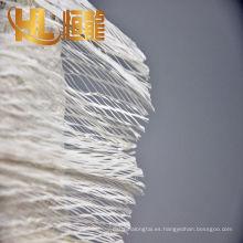 cuerda de relleno del cable de alta tenacidad pp, cuerda de relleno negra del cable de los pp