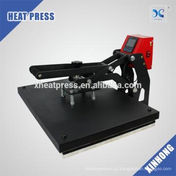 Melhor venda de sublimação flatbed camisa de imprensa de calor máquina de impressão HP3804B