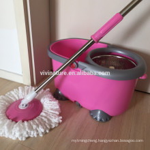 VIVINATURE spin mop with durable microfiber refill rotation mops