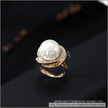 VAGULA Fashion perle Zircon bague de mariage (Hlr14172)