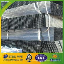 Q235 soldadura de acero al carbono tubo cuadrado de acero 70x70