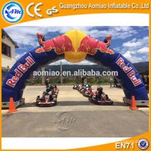 Arco inflável barato para a venda que anuncia o ar inflável da entrada / entrada para a venda