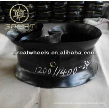 Tubo interno e pneu de esteira 1200-24