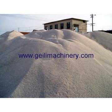 China arena del cuarzo del precio bajo / arena refractaria de la silicona