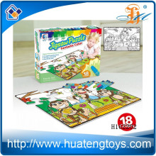 2015 Großhandel Kinder spielen Bildung Graffiti Puzzle, Malerei Jigsa Puzzle Spielzeug H162202